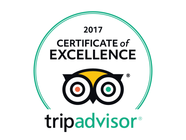 Tripadvisor Certificate of Excellence Villa Nangka Gili Air 2017