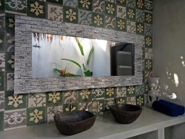 Antique Tiles From Bali Villa Nangka Gili Air