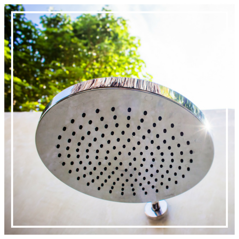 Villa With Outdoor Shower on Gili Air