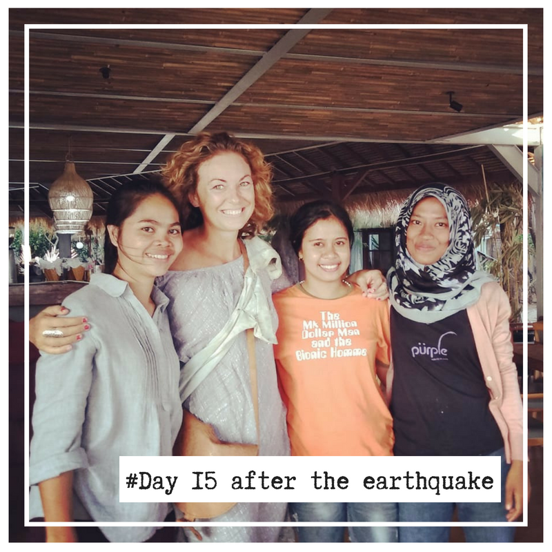 Dutch girl sees her indonesian friends again for the first time after the earthquake