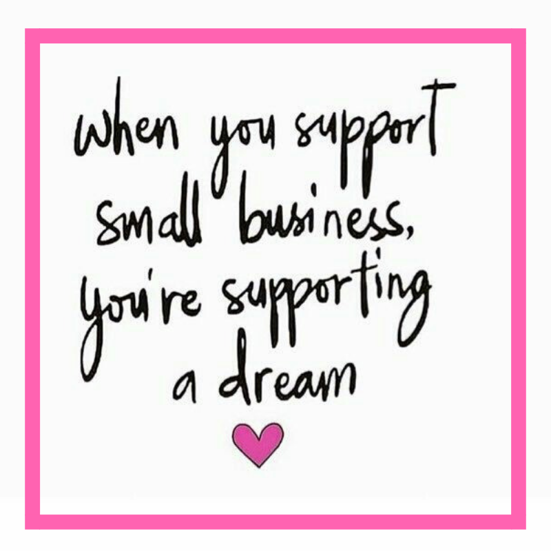 quote support small business