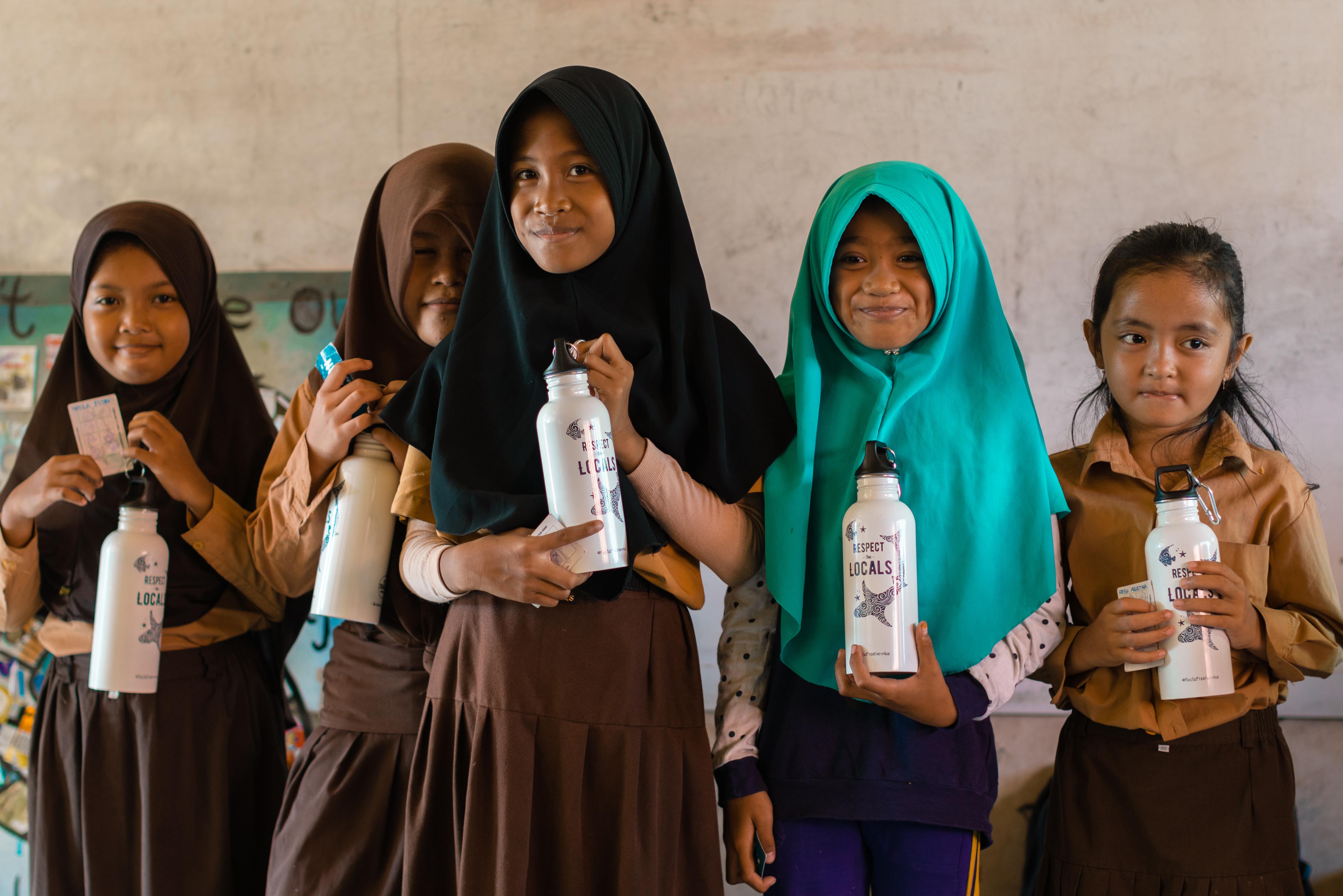 Plastic Free Paradise Campaign Gili Islands