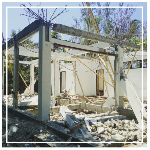 Building a new boutique hotel on Gili Air