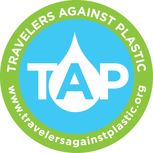 Travels Against Plastic Badge