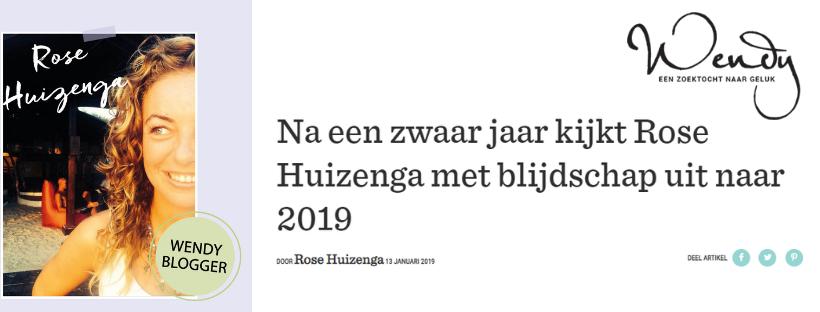 Cover - Blog Rose Huizenga for Wendy Magazine