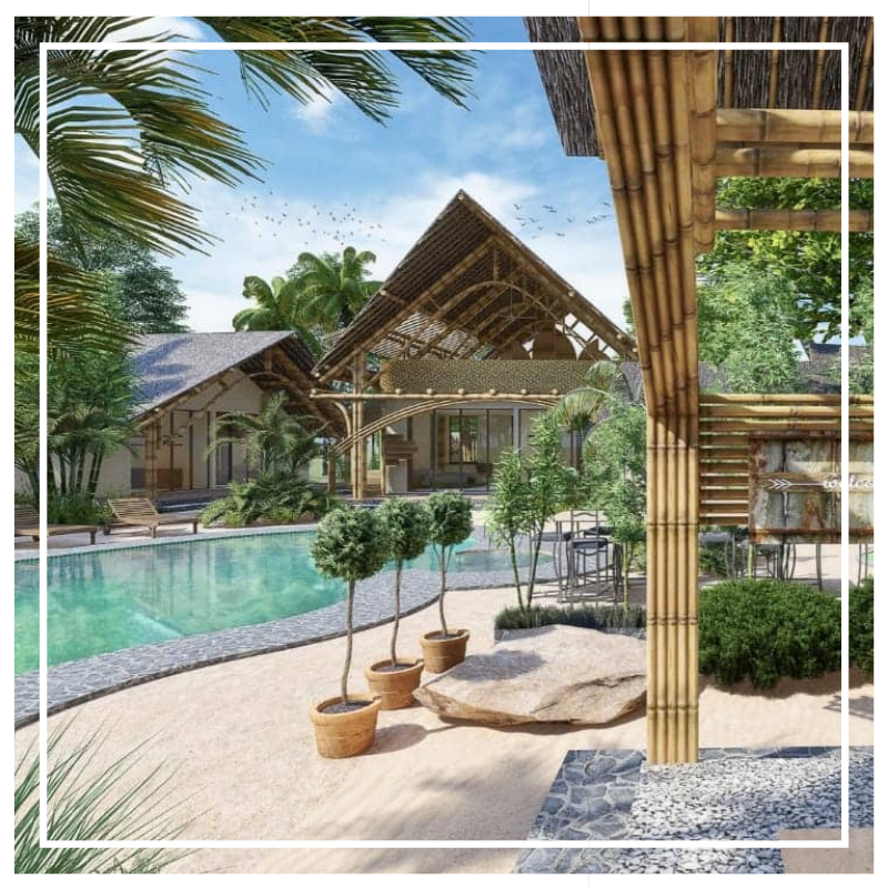 Brand New Villa On Gili Air in Indonesia