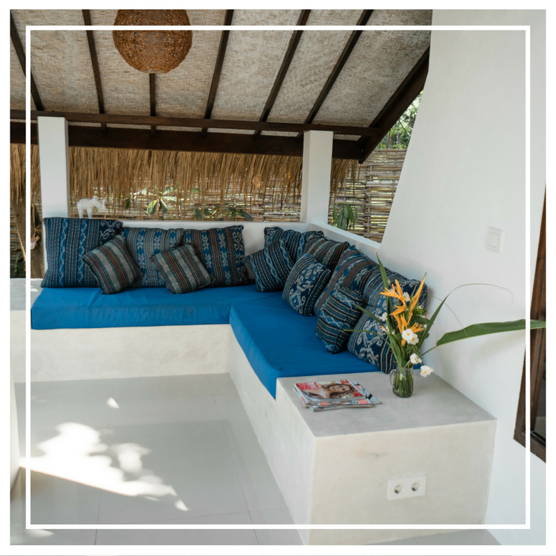The perfect place to relax and unwind on Gili Air