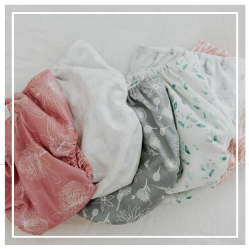 Beautiful design reusable diapers